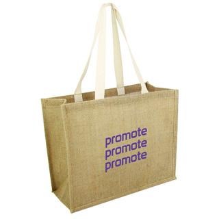 Express Taunton Jute Shopper Bags