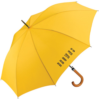Promotional Fare Automatic Crook Handle Umbrellas for Business Gifts