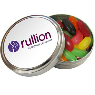 Promotional Jelly Bean Pocket Tins for Business Merchandise