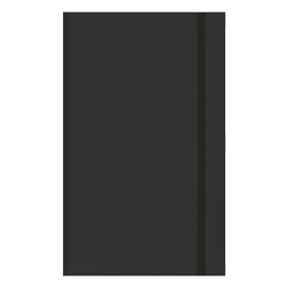 Foil blocked Matra Classic Medium Ruled Notebooks available in Black from Total Merchandise