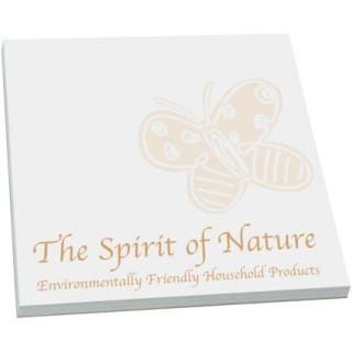 Promotional Eco Friendly Sticky Notes 3 x 3 for desktop marketing
