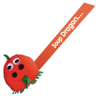 Dragon Logobugs in Red