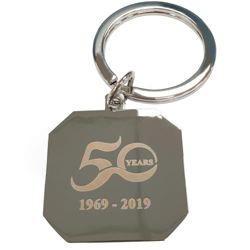 Corporate Branded Metal Keyrings for Business & Marketing