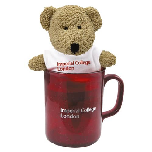 Promotional Bear in a Mug for Childrens Merchandise