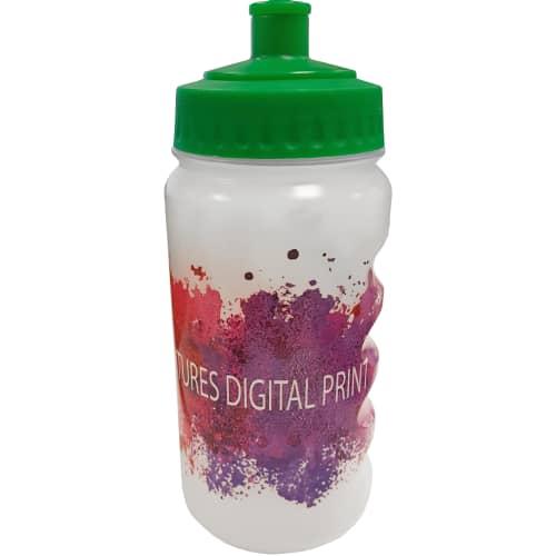 500ml Full Colour Finger Grip Bottles