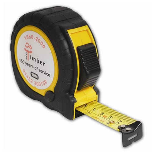 Personalised 10m Trade Tape Measure for Company Tools