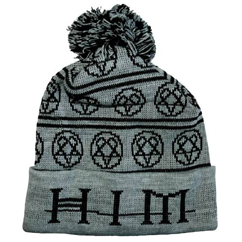 Promotional Knitted Bobble Hats with company Logo