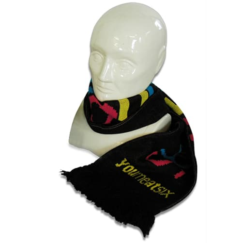 Promotional Knitted Scarves for Winter Promotions