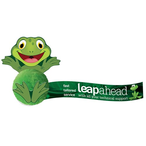 Promotional Card Head Animal Logobugs the Next Level of Branded Message Bug