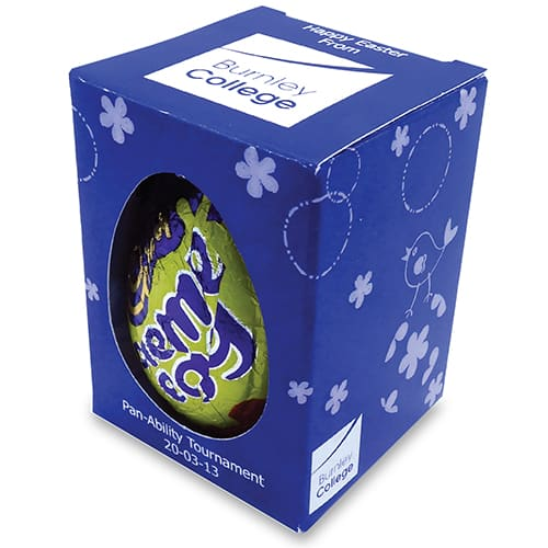 Promotional Chocolate Eggs Printed with Your Company Logo