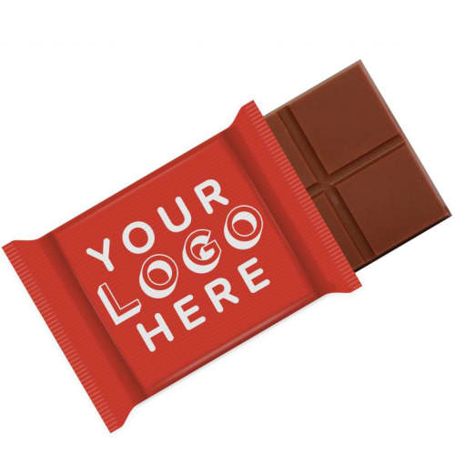 Promotional 20g Swiss Milk Chocolate Bars