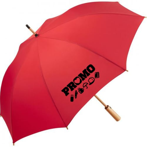 Branded AC Midsize Eco Umbrellas branded