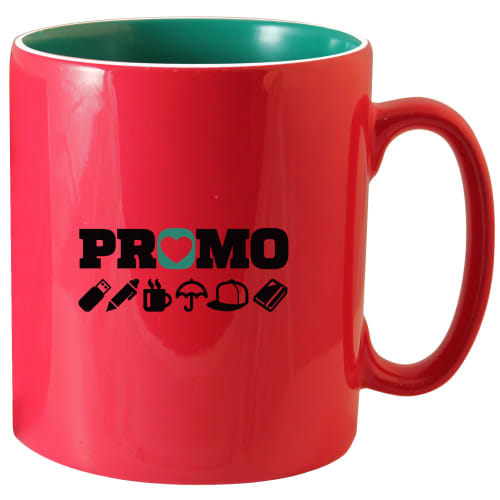 Promotional Any Colour Inner & Outer Mugs with Your Logo