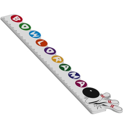 Promotional Bespoke Shaped 30cm Rulers for Office Stationery