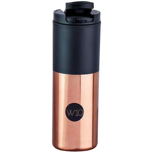 Promotional W10 Blenheim Reusable Thermal Cups in Copper Rose Gold