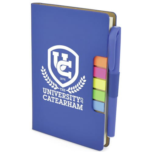 3 in 1 A6 Notebook Sets in Blue