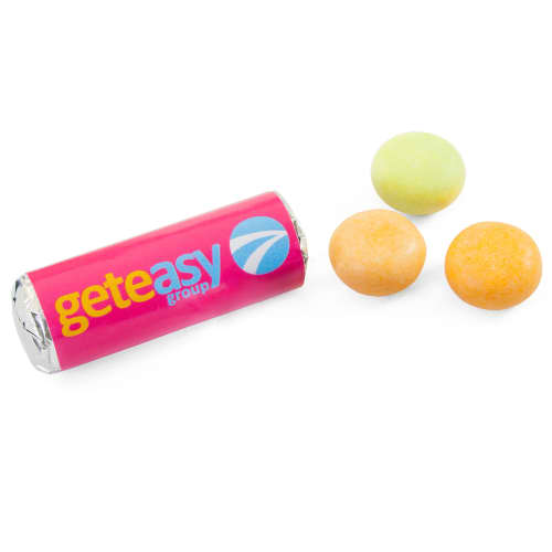 Branded Mini Mentos Drops with your Logo