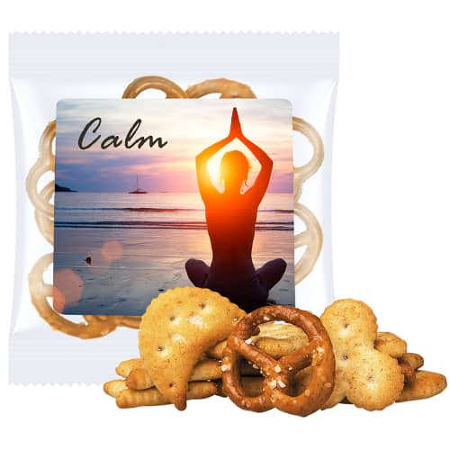 Promotional Cracker Mix Bags & Branded Snacks