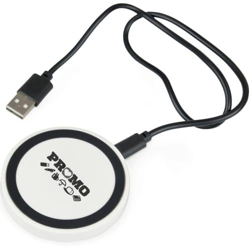 Custom Branded Wireless Charging Pad for Desktop Marketing Gifts