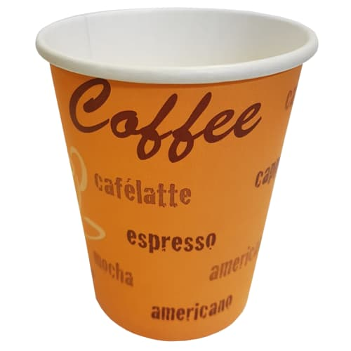 Promotional 8oz Paper Cups Printed with Your Logo
