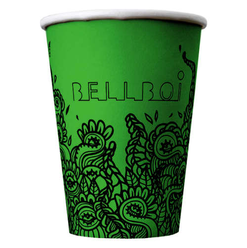 Promotional8oz Biodegradable Single Walled Paper Cups