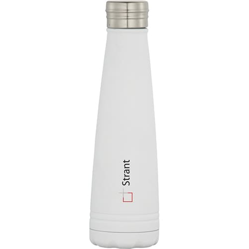 Duke Copper Vacuum Insulated Bottles in White