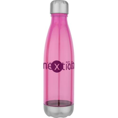 Pink Company Branded Aqua Tritan Bottles Giveaway Gifts