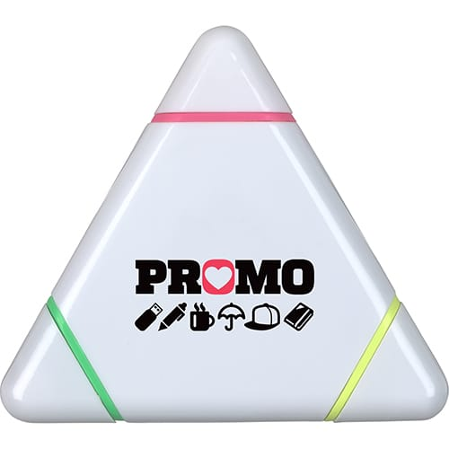 Promotional Printed Triangle Highlighter For Desks and Offices