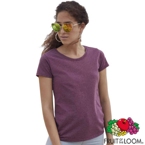 Promotional Fruit of the Loom Ladies Valueweight T-Shirts with your Logo