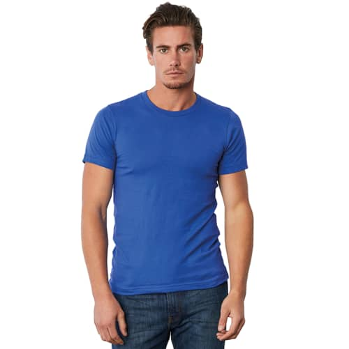 PromotionalUnisex Jersey Crew Neck T Shirt for Events