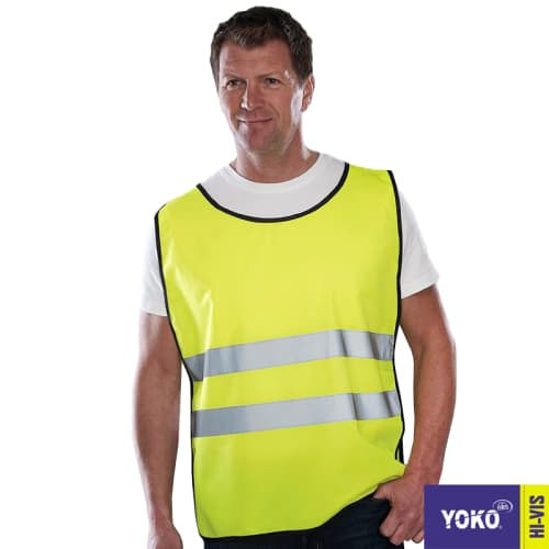 Custom printed Hi Vis Vests for cyclists, charity workers, runners, joggers & more.