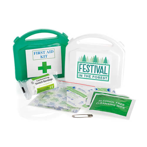 Promotional Mini First Aid Kit Cases with Company Logos