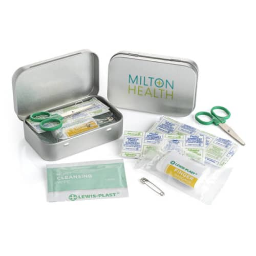 Promotional First Aid Kit Tins for Offices