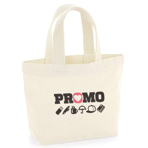 Organic Marina Mini Tote Bags