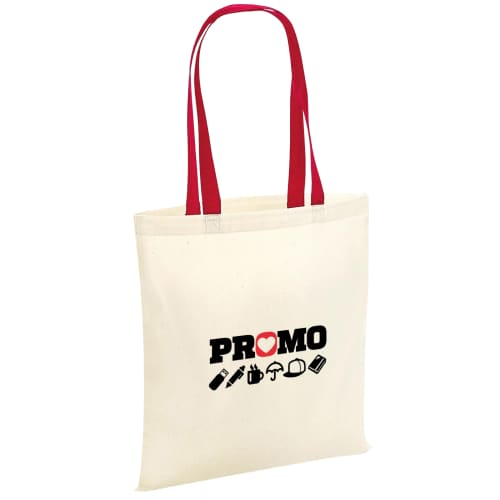 Corporate branded Westford Mill Contrast Bag for Life for all promotional events