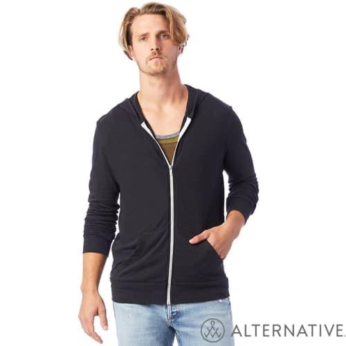 PromotionalEco Jersey Zip Hoodies for Merchandise