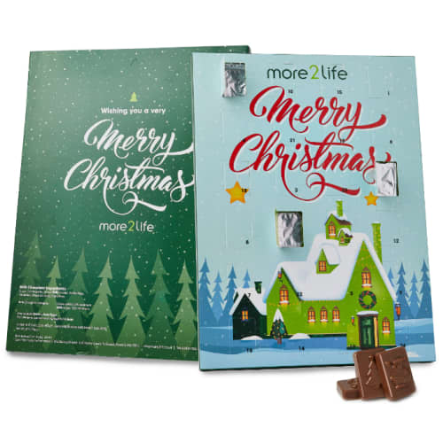 Promotional Foil Sealed Large Advent Calendars Printed with Your Design