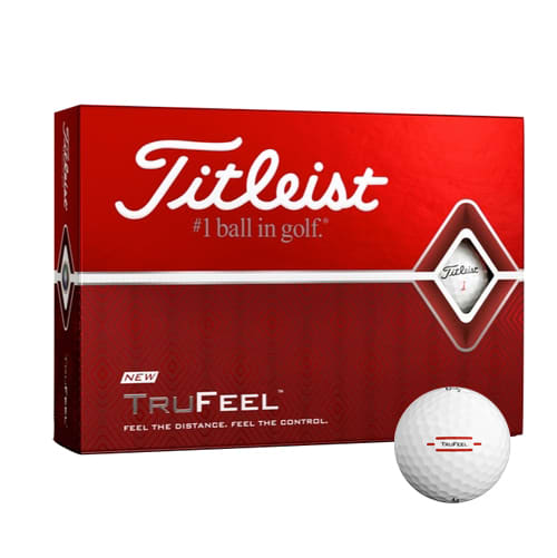 Promotional printed Titleist Golf Balls for company golf day giveaways