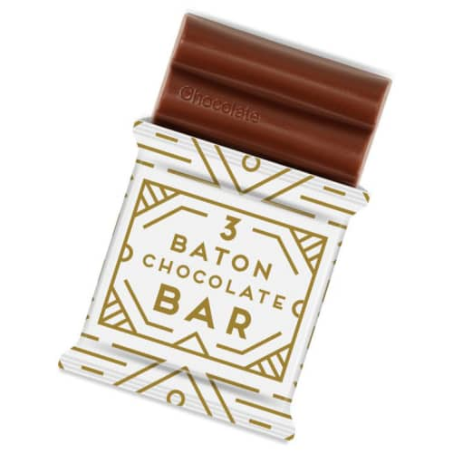 Promotional15g Baton Chocolate Bars as Giveaways