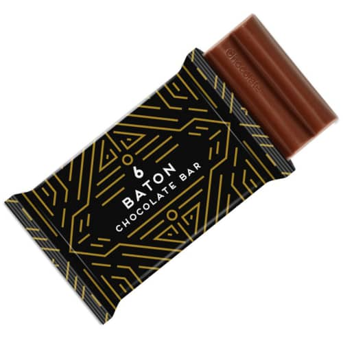 Promotional 30g Baton Chocolate Bars for Company Giveaways