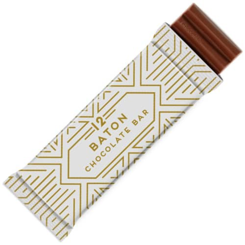 Promotional 60g Baton Chocolate Bars for Business Merchandise