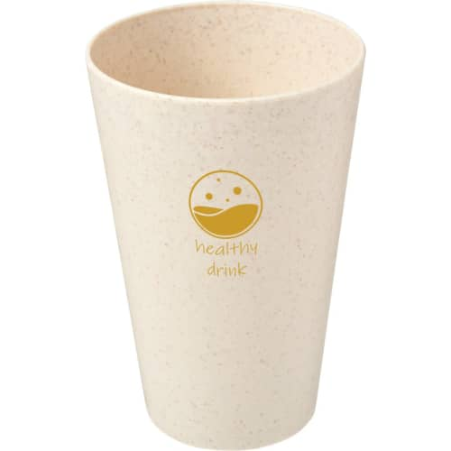 Promotional 430ml Wheat Straw Tumblers with Logos