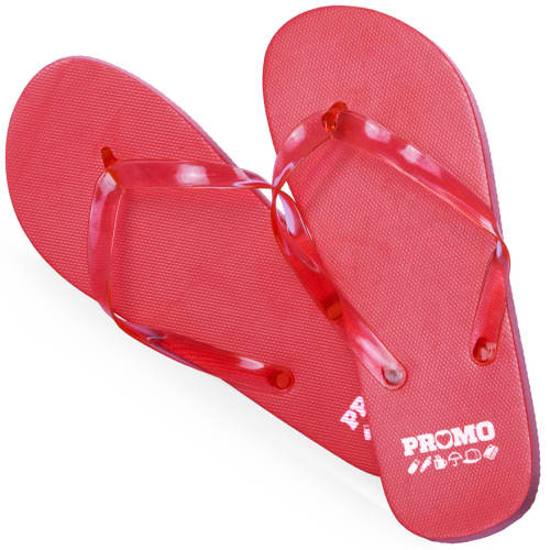 Flip Flops in Red