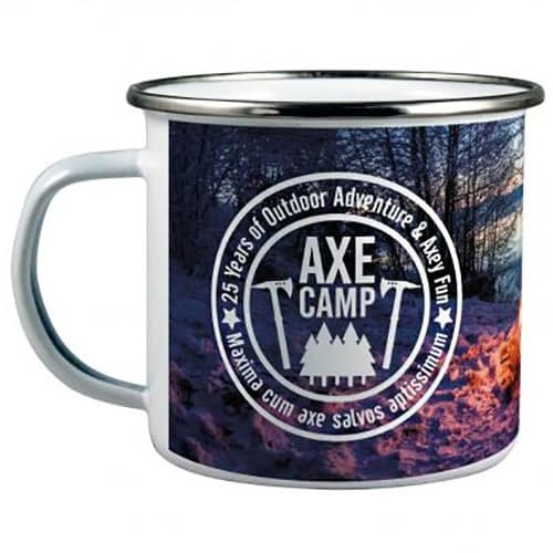 Promotional 11oz Enamel Mugs for Events