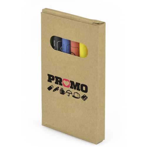Branded crayon sets
