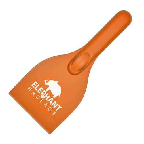 Orange Branded Ice Scraper
