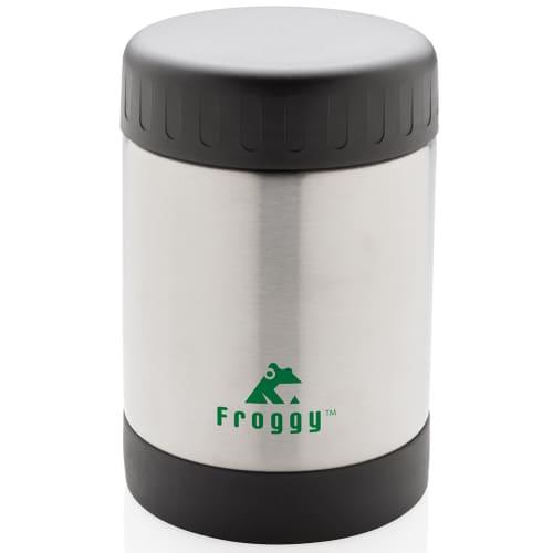 Vacuum Insulated Steel Promotional Food Flask
