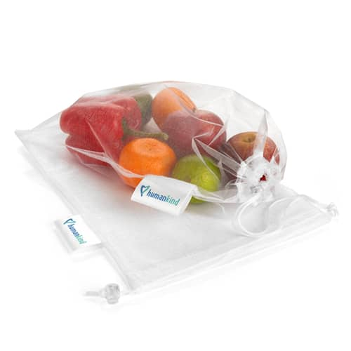 Branded Reusable Produce Bags for fruits, vegetables and more