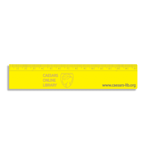Promotional 15cm Recycled Rulers