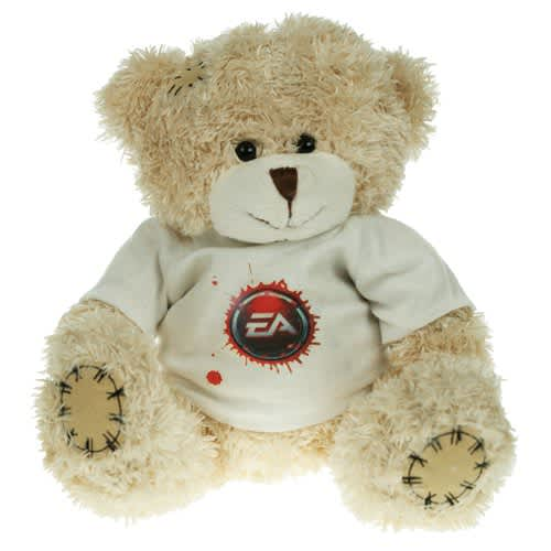 Promotional 18cm Paw Teddy Bears with logos